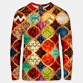 Miniatur Epic Colored Traditional Moroccan Artwork. Unisex sweater, Live Heroes