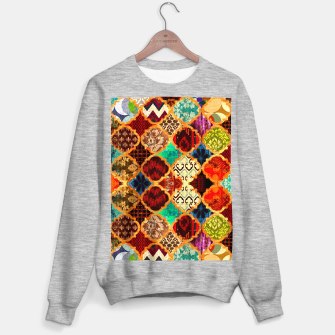 Miniatur Epic Colored Traditional Moroccan Artwork. Sweater regular, Live Heroes