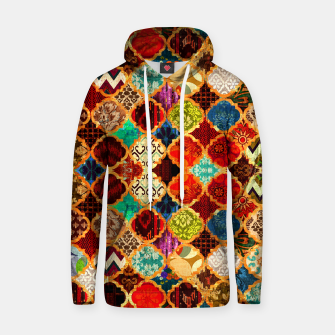 Miniatur Epic Colored Traditional Moroccan Artwork. Hoodie, Live Heroes