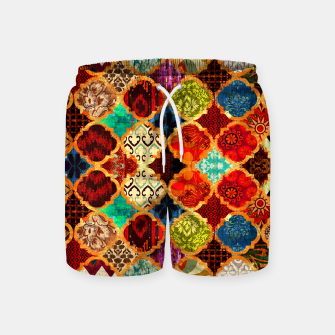 Thumbnail image of Epic Colored Traditional Moroccan Artwork. Swim Shorts, Live Heroes