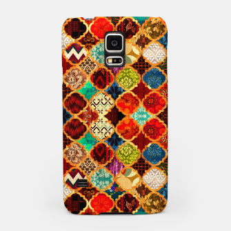 Miniatur Epic Colored Traditional Moroccan Artwork. Samsung Case, Live Heroes