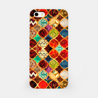 Miniatur Epic Colored Traditional Moroccan Artwork. iPhone Case, Live Heroes