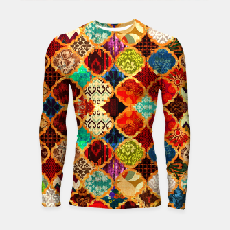Miniatur Epic Colored Traditional Moroccan Artwork. Longsleeve rashguard , Live Heroes