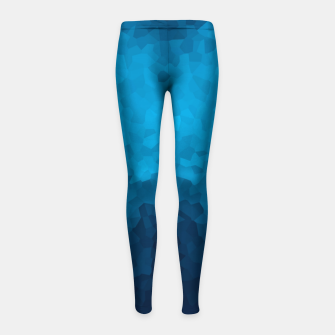 Thumbnail image of Deep Ocean Girl's leggings, Live Heroes