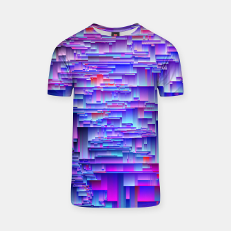 Miniatur Squiffy Glitches T-shirt, Live Heroes