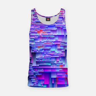 Miniatur Squiffy Glitches Tank Top, Live Heroes