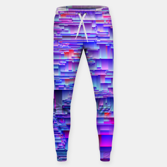 Miniatur Squiffy Glitches Sweatpants, Live Heroes