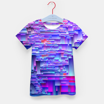 Miniatur Squiffy Glitches Kid's t-shirt, Live Heroes