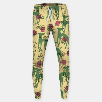 Miniaturka Greyhounds and Roses Sweatpants, Live Heroes