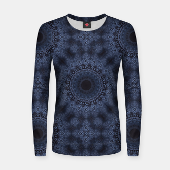 Thumbnail image of Blue sphere Women sweater, Live Heroes