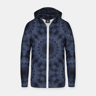 Thumbnail image of Blue sphere Zip up hoodie, Live Heroes