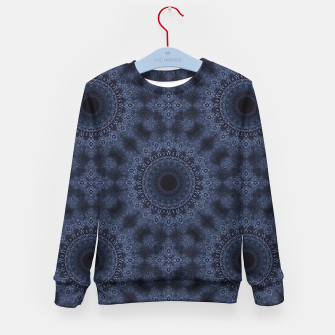 Thumbnail image of Blue sphere Kid's sweater, Live Heroes