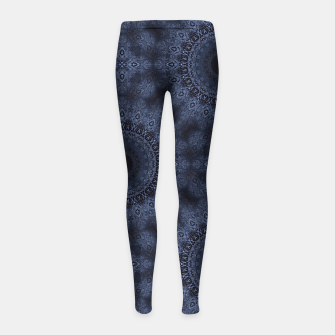Thumbnail image of Blue sphere Girl's leggings, Live Heroes
