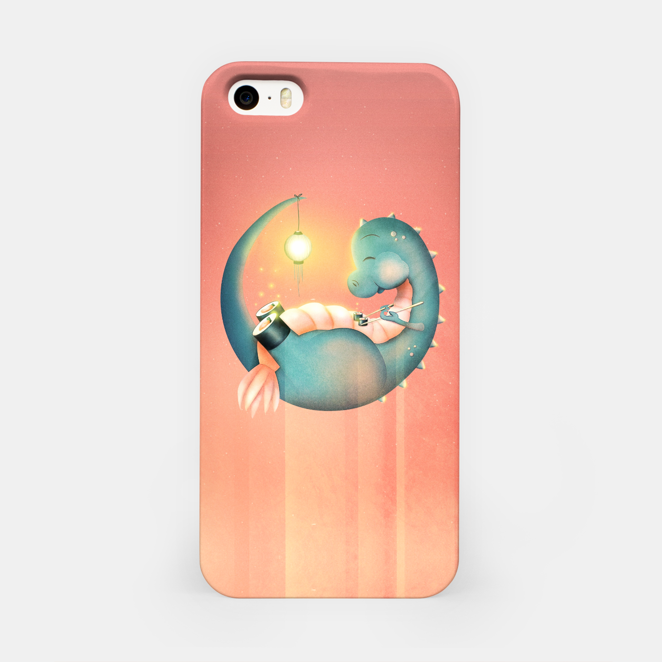 Image of Sushi Dinosaur iPhone Case - Live Heroes