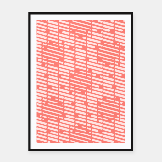 Thumbnail image of Lines elements Framed poster, Live Heroes