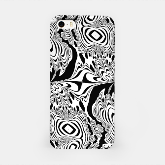 Thumbnail image of Monochrome Mandala Tigers iPhone Case, Live Heroes
