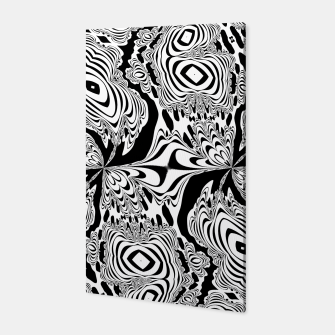 Thumbnail image of Monochrome Mandala Tigers Canvas, Live Heroes