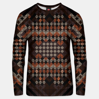 Thumbnail image of Triangles Mosaic Unisex sweater, Live Heroes