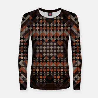 Thumbnail image of Triangles Mosaic Women sweater, Live Heroes