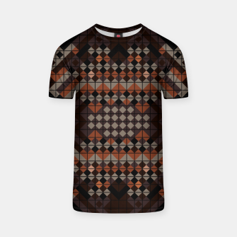 Thumbnail image of Triangles Mosaic T-shirt, Live Heroes