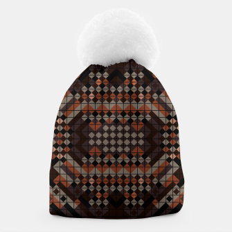 Thumbnail image of Triangles Mosaic Beanie, Live Heroes
