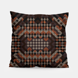 Thumbnail image of Triangles Mosaic Pillow, Live Heroes
