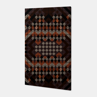 Thumbnail image of Triangles Mosaic Canvas, Live Heroes