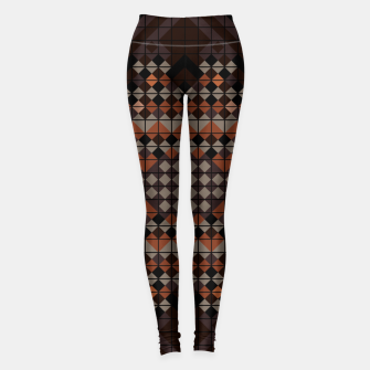 Thumbnail image of Triangles Mosaic Leggings, Live Heroes