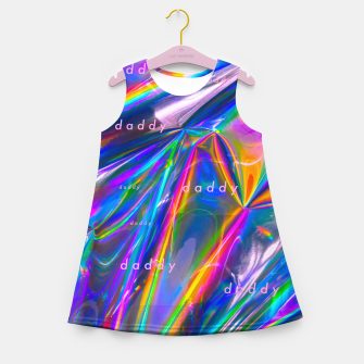 Thumbnail image of Daddy on 303 acid.  Girl's summer dress, Live Heroes