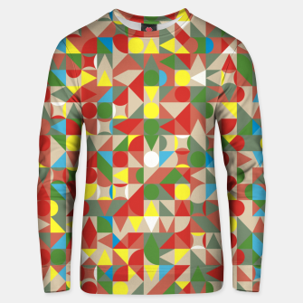 Thumbnail image of Geometric Color Mosaic Unisex sweater, Live Heroes