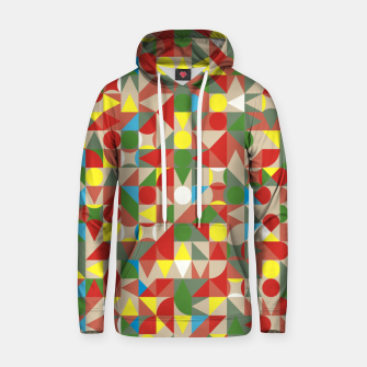 Thumbnail image of Geometric Color Mosaic Hoodie, Live Heroes