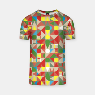 Thumbnail image of Geometric Color Mosaic T-shirt, Live Heroes