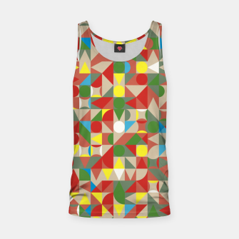 Thumbnail image of Geometric Color Mosaic Tank Top, Live Heroes