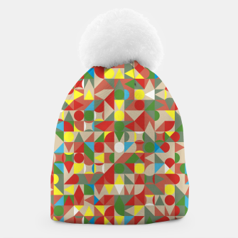 Thumbnail image of Geometric Color Mosaic Beanie, Live Heroes