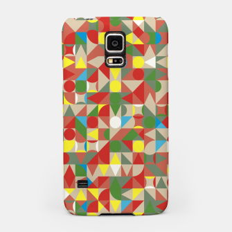 Thumbnail image of Geometric Color Mosaic Samsung Case, Live Heroes
