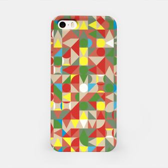 Thumbnail image of Geometric Color Mosaic iPhone Case, Live Heroes