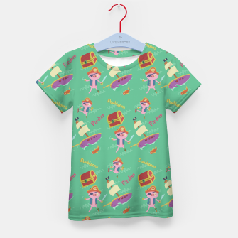 Pirate pig Kid's t-shirt thumbnail image