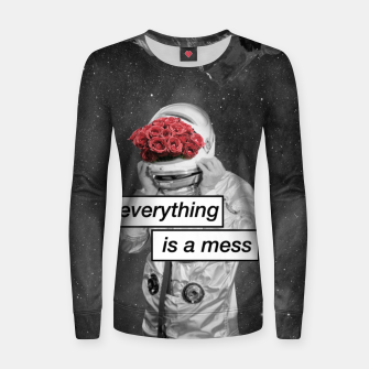 Imagen en miniatura de Everything is a mess Women sweater, Live Heroes