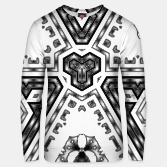 Miniatur Metallic Angles Unisex sweater, Live Heroes