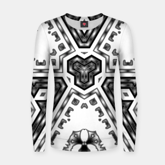 Miniatur Metallic Angles Women sweater, Live Heroes