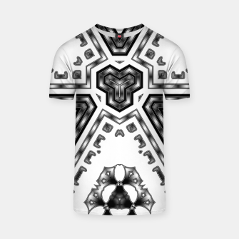 Miniatur Metallic Angles T-shirt, Live Heroes