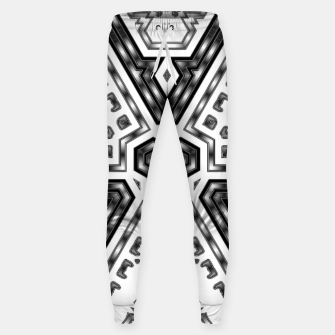 Miniatur Metallic Angles Sweatpants, Live Heroes