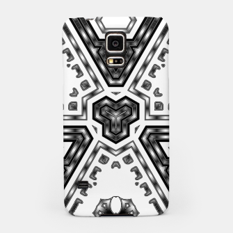 Miniatur Metallic Angles Samsung Case, Live Heroes