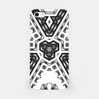Miniatur Metallic Angles iPhone Case, Live Heroes