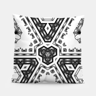 Miniatur Metallic Angles Pillow, Live Heroes