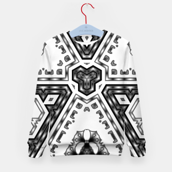 Thumbnail image of Metallic Angles Kid's sweater, Live Heroes