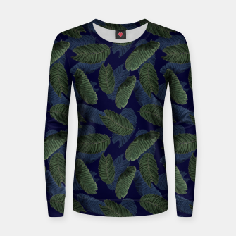 Miniatur Leaves Women sweater, Live Heroes
