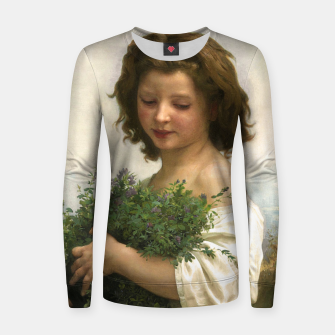 Thumbnail image of Little Esmeralda by William Adolphe Bouguereau Women sweater, Live Heroes