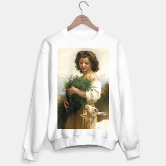 Thumbnail image of Little Esmeralda by William Adolphe Bouguereau Sweater regular, Live Heroes