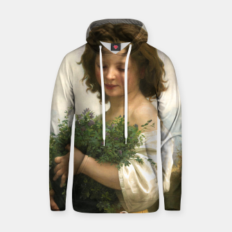 Thumbnail image of Little Esmeralda by William Adolphe Bouguereau Hoodie, Live Heroes